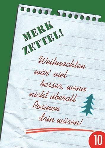 Pack de 10: Postal A6 + + + Navidad de Modern Times + + + Merk Notas. + + + Post Card Paradise: Amazon.es: Oficina y papelería