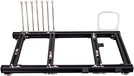 Telaio a telaio aperto supporto ATX ordinari realizzata in lega di alluminio di alta qualit/à 20 * 20 mini telaio in lega di alluminio fai-da-te fai da te Custodia per PC per scheda madre per PC ITX