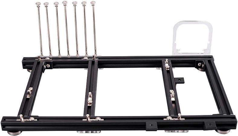 Caja de PC de marco abierto de bricolaje, caja de plataforma de ...
