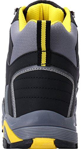 Seguridad Con 1702 De Antideslizante Gris S3 Acero Antiestático Tapa Src lm Caucho Suela Zapato YA5qn5