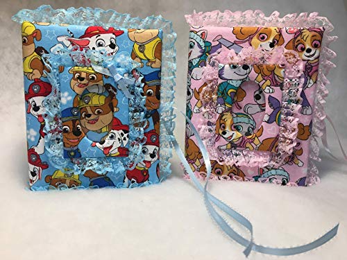 Paw Patrol Custom Photo Album for Girl or Boy- Holds 100 4x6 Photos - Handmade ()