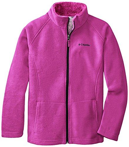 Columbia Dotswarm II Full-Zip Fleece Jacket - Girls' Groovy