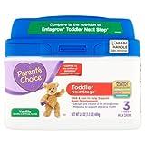 Parent's Choice 24 oz Toddler Next Stage 3 Vanilla Powder Milk Drink Infant Formula