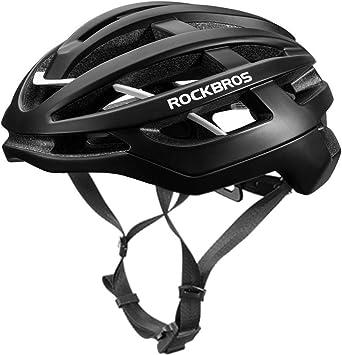 ROCKBROS Casco Integral para Bicicleta Aerodinámica Protección EPS ...