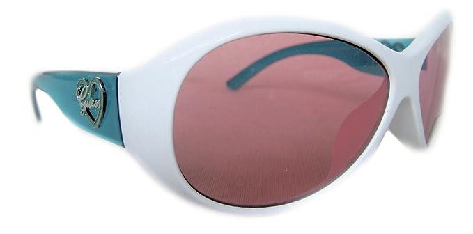 Amazon.com: Guess Kids Niñas anteojos de sol GU T111 WHT 21 ...
