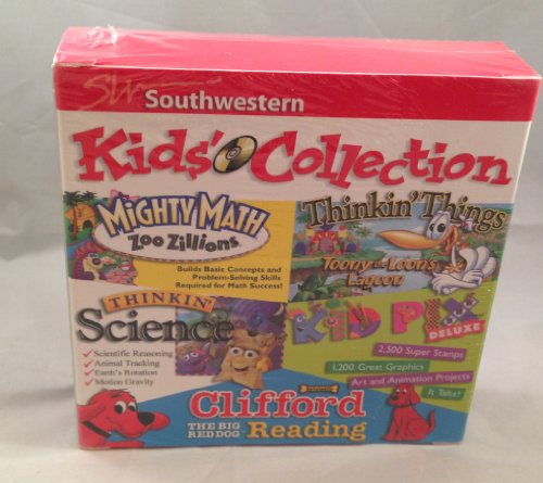 Southwestern Kids Collection: 4 Awesome CD-ROMS for kids
