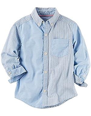 Carter's Baby Boys' Striped Woven Shirt