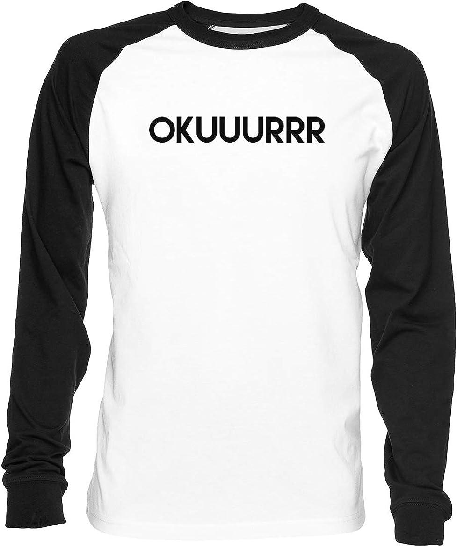 Okuuurrr - Cardi B Hombre Mujer Unisex Camiseta De Béisbol ...