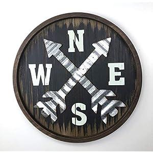 51Dg1Bwxr8L._SS300_ Nautical Wooden Signs & Nautical Wood Wall Decor