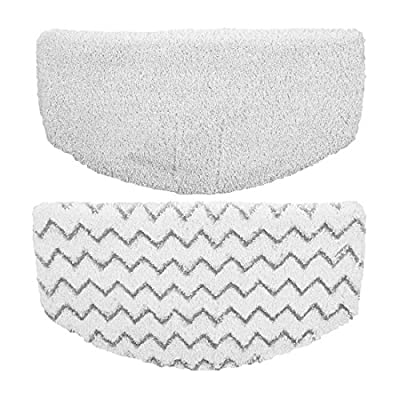 Flammi Steam Mop Pads Replacement for Bissell Powerfresh Steam Mop 1940 1440 1544 Series, Model 19402 19404 19408 1940A 1940Q 1940T 1940W