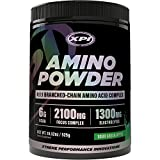XPI Amino Powder (Sour Green Apple) - (30 Serv) 18.5 OZ - BCAA & Amino Acid Complex - 4:1:1 BCAA Ratio! - Build Muscle & Speed Up Recovery