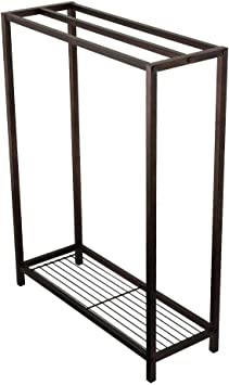 Kingston Brass Scc8355 Edenscape Freestanding Iron Towel Rack Oil Rubbed Bronze Amazon Com