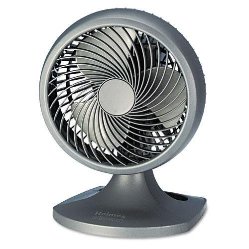 Holmes HAOF90NUC Blizzard 9-Inch Three-Speed Oscillating Table/Wall Fan Charcoal