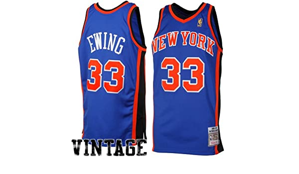 30989a106 ... closeout amazon nba mitchell ness patrick ewing new york knicks 1996  1997 throwback authentic jersey royal