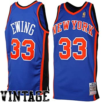 quality design 1f7b7 6127c Amazon.com: NBA Mitchell & Ness Patrick Ewing New York ...