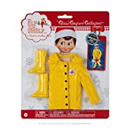 Elf on The Shelf Claus Couture Caroling in The Raincoat