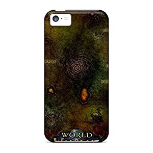 Unique Design Iphone 5c Durable Cases Covers Wow World Of Warcraft