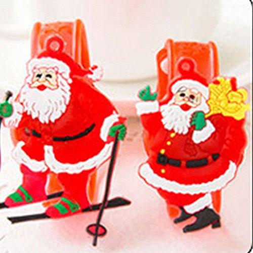 XENO-Supplies Flash Light Led Wrist Watch Bracelet Kids Boy Girl Toys Adjustable (santa claus)