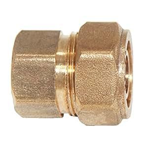 Gazechimp Acoplamiento de Tornillo Conector Hembra Roscado 1/4 '' 1/2 '' 3/4 '' - s25 1/2 ''