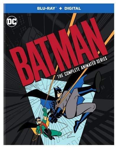 金盒特价 Batman Animated Series CSR 蝙蝠侠 动画系列 (109集+新蝙蝠侠历险记) 12张蓝光碟 4.9折$43.99 海淘转运到手约¥362