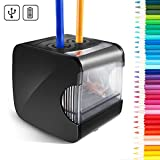 Cool-Shop Electric Pencil Sharpener - Best USB or Battery Operated Heavy Duty Pencil Sharpener for School, Home, Office, Studio