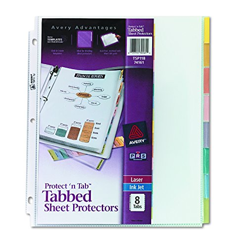 The 8 best sheet protectors with tabs