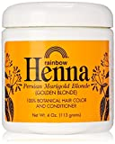 Rainbow Research Henna Hair Color and Conditioner, Persian Marigold Blonde/Golden Blonde, 4 Ounce