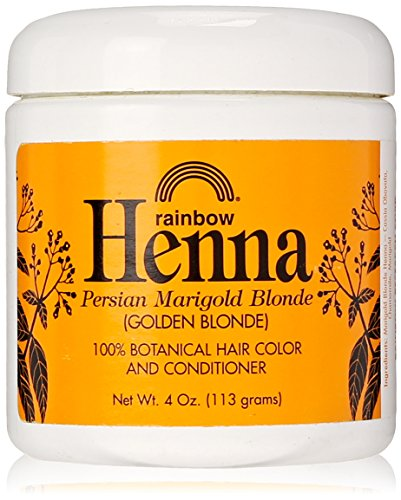 Buy Special Effects Hair Dye (Rainbow Research Henna Hair Color and Conditioner, Persian Marigold Blonde/Golden Blonde, 4 Ounce)