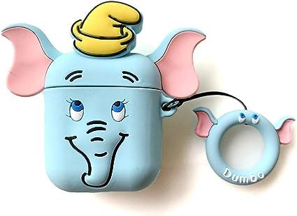 Amazon Com Akxomy Airpods Case Cute Cartoon Airpods Cover Soft