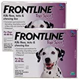 12 MONTH Frontline Top Spot Red: for Dogs 89-132lbs., My Pet Supplies