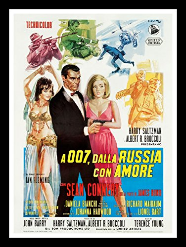 From Russia With Love CineMasterpieces Original James Bond Italian Movie Poster