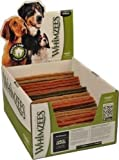 PARAGON 154114 Whimzees Stix Dental Treat for Dogs, Large, 50 Count, NET WT 6.6 lbs