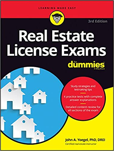 amazon com real estate license exams for dummies 9781119370659