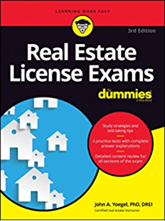 texas real estate license exam prep all in one review and testing