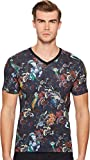 ETRO Men's Blossom T-Shirt Navy X-Large