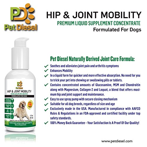 Skin coat liquid supplement for dogs by pet diesel for Liquid fish oil for dogs