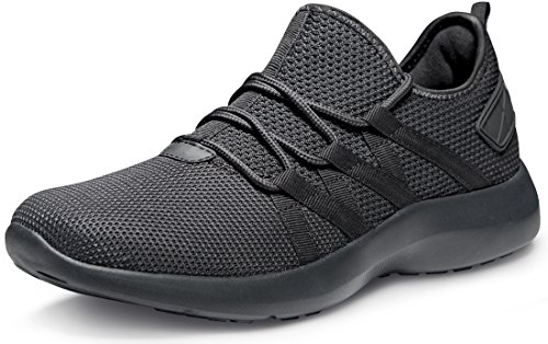 Tesla TF-X735-SGY_Men 7 D(M) Unisex Boost Slip-on Design Running Walking Sneakers Performance Shoes X735