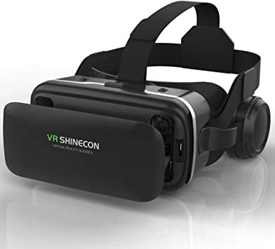 VR Headset 3D Gear VR-Virtual Reality Headsets 3D Glasses VR Box for Smartphone