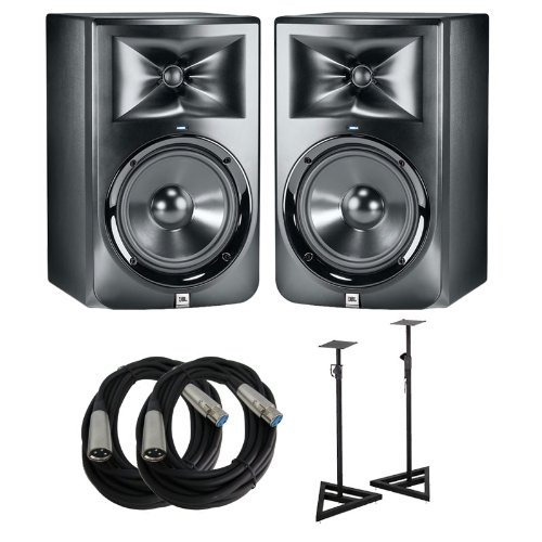 JBL LSR308 Studio Monitors Cables product image