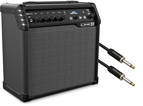Line 6 Spider V 30 Electric Guitar Modeling Combo Amp w/ Cable by Line 6