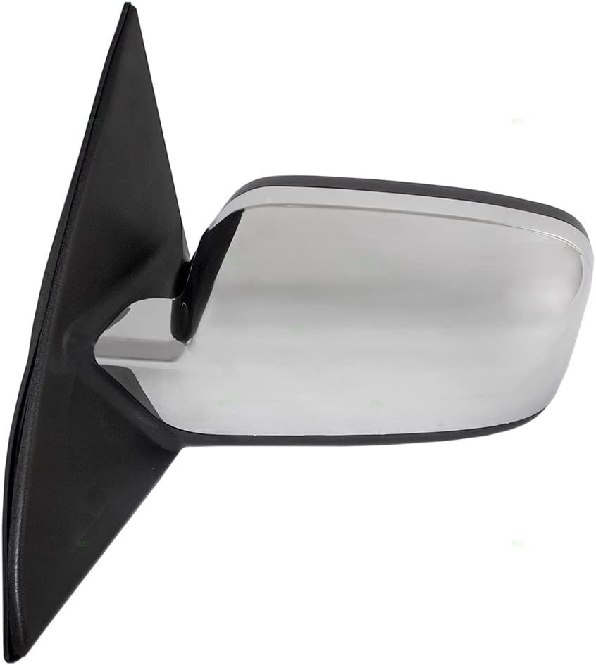 07-10 MKZ Power Non-Heat Fixed Chrome Cap w//Puddle Lamp Mirror Left Driver Side