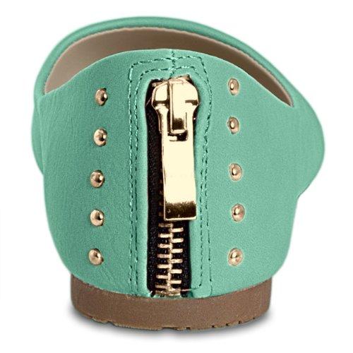CASPAR donna Accessoires Taschen amp; Menta Ballerine rqYaPrITwx