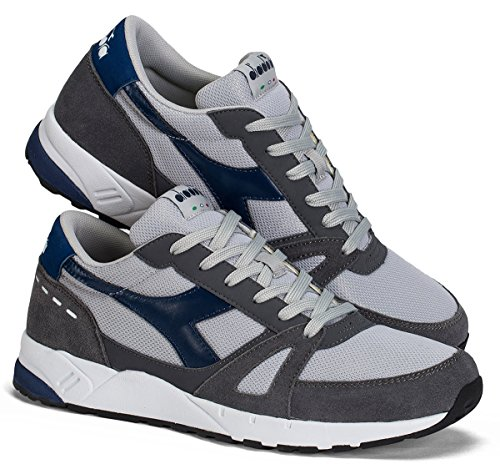 Diadora Unisex Adults' Run 90 Sneaker Low Neck Grey 3q1HhCzG