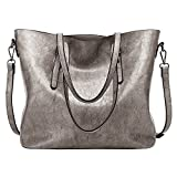 Image of LWK Women Handbags Fashion Handbags for Women Simple PU Leather Shoulder Bags Messenger Tote Bags 285
