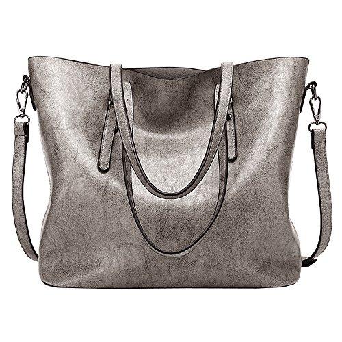 LWK Women Handbags Fashion Handbags for Women Simple PU Leather Shoulder Bags Messenger Tote Bags 285