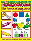 Preschool Basic Skills: Visual Perception & Drawing Activities