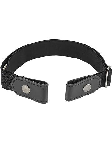 611a086aaa106 MENGZHEN 1PC Stretch Waist Belt Comfortable Invisible Belt No Bulge No  Hassle Buckle-free Elastic