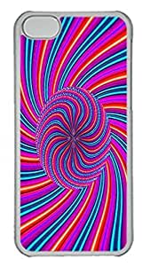 TYHde iPhone 5/5s Case Abstract Rotation Id02 PC Custom iPhone 5/5s Case Cover Transparent ending