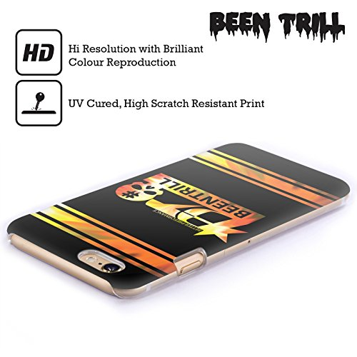 Official Been Trill Orange Colourful Prints Hard Back Case for Apple iPhone 5 / 5s / SE