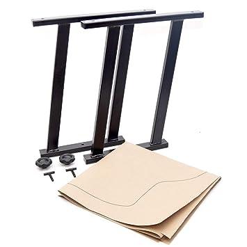 Multiflexboard Konsolen Schwarz H 51 Cm Für Vw Multivan T5 T6 1 1 Zuschnittvorlage Baby
